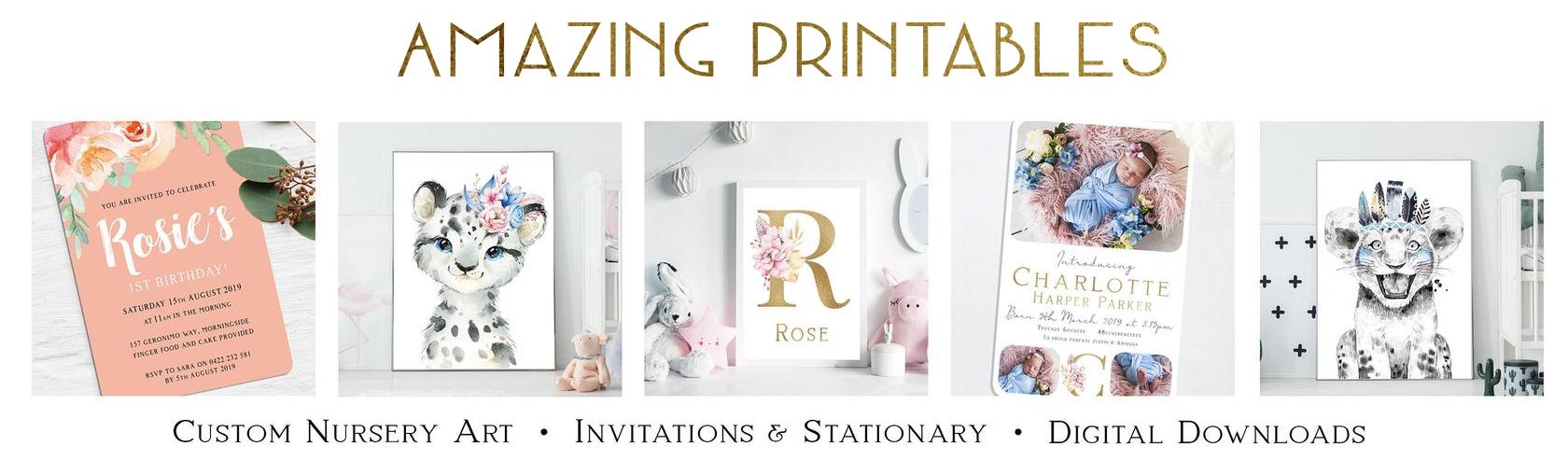 Amazing Printables